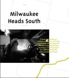 Milwaukee Heads South