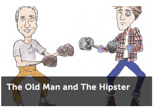 Old Man and the Hipster